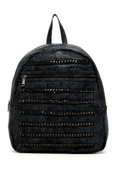 Urban Expressions Echo Chain Backpack Black