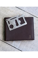 Cathy's Concepts Personalized Bifold Wallet Brown F