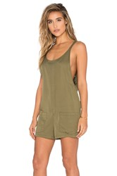 Bishop Young Gracie Romper Olive