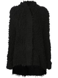 Atm Anthony Thomas Melillo Atm Hooded Cardigan Black