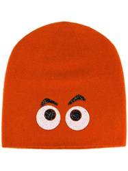 Warm Me 'Dagobert' Beanie Hat Yellow Orange