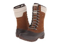 The North Face Shellista Ii Mid Dachshund Brown Demitasse Brown Women's Cold Weather Boots