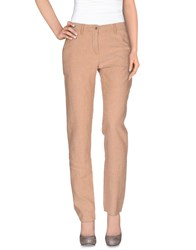 Incotex Red Trousers Casual Trousers Women Sand