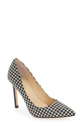 Ivanka Trump Women's 'Carra' Pump Black White Fabric