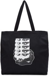 Perks And Mini Black Monkey Logo Tote