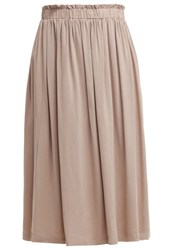 Edc By Esprit Pleated Skirt Old Pink Nude