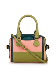 Burberry Little Bee Colour Block Leather Cross Body Bag