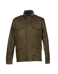 M.Grifoni Denim Jackets Military Green