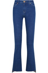Mih Jeans M.I.H Marrakesh Cropped High Rise Bootcut Mid Denim