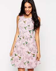 Traffic People Birds Of A Feather Prom Dress Pink
