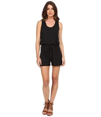 Lanston Romper Black Women's Jumpsuit And Rompers One Piece