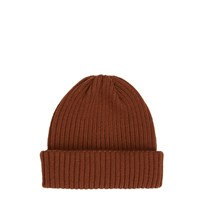 River Island Mens Dark Orange Fisherman Beanie