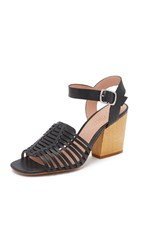 Madewell Willa Diamond Heeled Sandals True Black