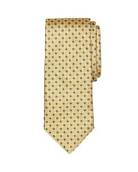 Brooks Brothers Mini Multi Flower Classic Tie Yellow