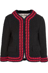Gucci Cropped Boucle Tweed Jacket