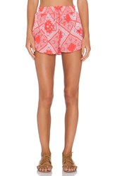 Flynn Skye Get Waisted Short Red