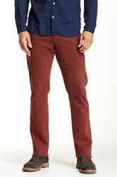 Agave Waterman Glove Touch Relaxed Cut Straight Leg Jean Red