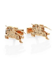 Burberry Gold Plated Cuff Links