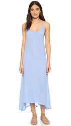 Bobi Flowy Maxi Dress Frozen