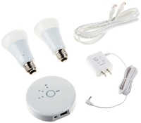 Philips 431643 Hue Personal Wireless Lighting Starter Pack Frustration Free Led Household Light Bulbs Amazon.Com