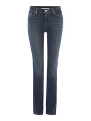 Levi's 714 Straight Leg Jean In Juniper Sea Denim Mid Wash