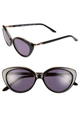 Women's Bcbgmaxazria 'Stunning' 51Mm Cat Eye Sunglasses