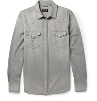 Jean Shop Denim Shirt Gray