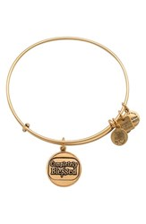 Women's Alex And Ani 'Completely Blessed' Expandable Wire Bangle Rafaelian Gold