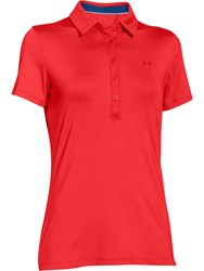 Under Armour Zinger Polo Red