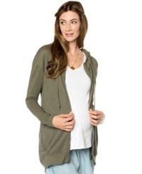 A Pea In The Pod Maternity Hoodie Long Sleeve Hooded