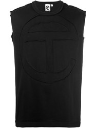 Telfar Logo Sleeveless T Shirt Black