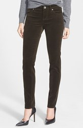 Women's Kut From The Kloth 'Diana' Stretch Corduroy Skinny Pants Olive Tuscany