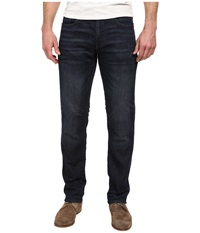 Dkny Bleecker Knit Jeans In Kinetic Dark Indigo Wash Kinetic Dark Indigo Wash Men's Jeans Black