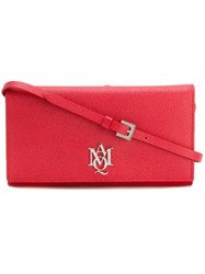 Alexander Mcqueen Amq Pouch With Strap Red