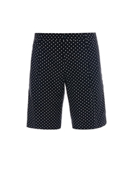 Dolce And Gabbana Polka Dot Print Bermuda Shorts