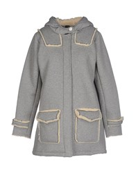 Soallure Coats And Jackets Jackets Women Grey