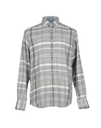 Del Siena Shirts Shirts Men Light Grey