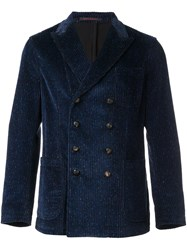 The Gigi 'Ziggy' Tweed Blazer Blue
