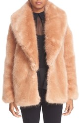 Opening Ceremony Women's Faux Fur Front Sweater
