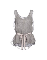 Ambre Babzoe Topwear Tops Women Grey