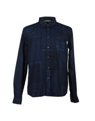 Deus Ex Machina Shirts Dark Blue