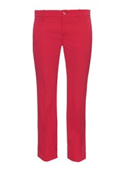 Gucci Slim Kick Flare Cropped Stretch Wool Trousers