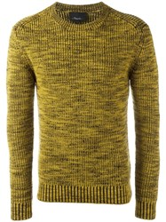 3.1 Phillip Lim Marled Jumper Yellow Orange