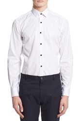 Men's Lanvin Extra Trim Fit Tuxedo Shirt