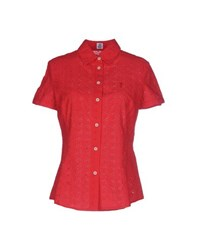 Cooperativa Pescatori Posillipo Shirts Shirts Women Red