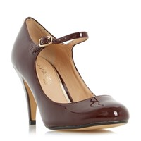 Head Over Heels Agnes Mary Jane Courts Burgundy