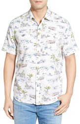 Men's Tommy Bahama 'Retro Bungalow Cruiser' Island Modern Fit Cotton Camp Shirt