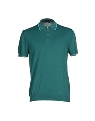 Zanone Topwear Polo Shirts Men Dark Blue