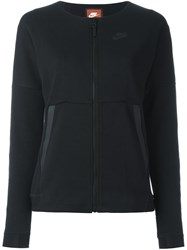 Nike Zip Up Sweatshirt Black
