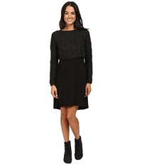 Prana Everly Dress Black Women's Dress